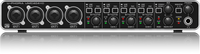 Behringer U-PHORIA UMC404HD Audiophile 4x4, 24-Bit/192 kHz USB Audio/MIDI Interface with MIDAS Mic Preamplifiers