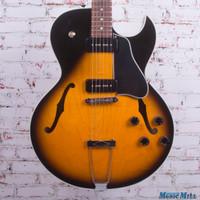 1996 Gibson ES135 Semi Hollow Body Electric Guitar Vintage Sunburst