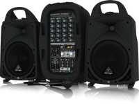 Behringer EUROPORT PPA500BT  Ultra-Compact 500-Watt 6-Channel Portable PA System with Bluetooth