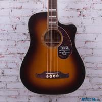 Fender Kingman SCE Dreadnought Acoustic‑Electric Bass Brown Sunburst