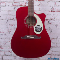 Fender Sonoran SCE V2 Acoustic Electric Guitar Candy Apple Red