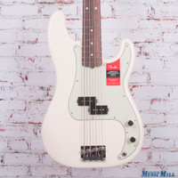 Fender American Professional Precision Bass Electric Bass Olympic White