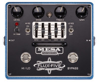Mesa Boogie Flux‑Five Overdrive Pedal with 5‑Band EQ