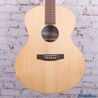 Seagull Maritime Mini Jumbo Spruce Gloss QI Acoustic Electric Guitar Natural