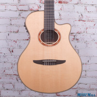 Yamaha NTX1200R Nylon Classical Acoustic Electric Guitar Natural