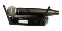 Shure GLXD24/SM58 Handheld Wireless Microphone System