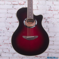 Yamaha APX500III Thinline Cutaway Acoustic Electric Guitar Dusk Sun Red