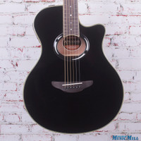 Yamaha APX500III Thinline Cutaway Acoustic Electric Guitar Black