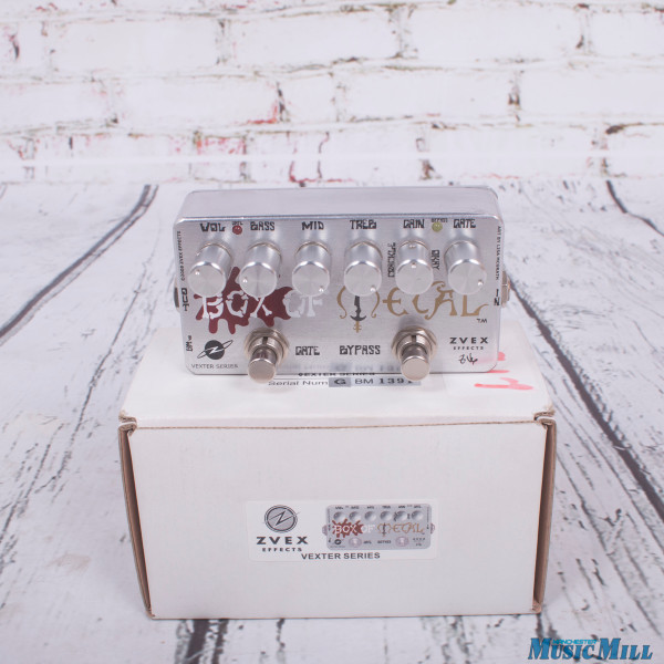 Zvex Vexter Box Of Metal Distortion Metal