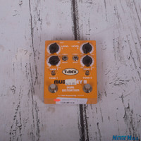 TREX Mudhoney 2 Distortion Guitar Effect Pedal