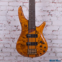 Ibanez SR805AM 4-String Electric Bass Amber
