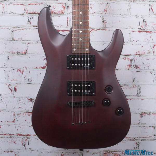 Schecter Omen 6 Electric Guitar Satin Walnut