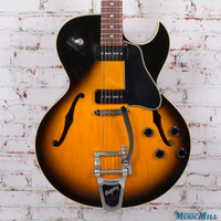 Gibson ES135 Hollow Body Electric Guitar Vintage Sunburst w Bigsby