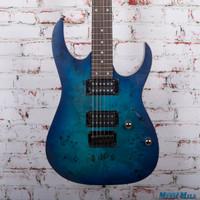 Ibanez RG421PB Electric Guitar Sapphire Blue Flat