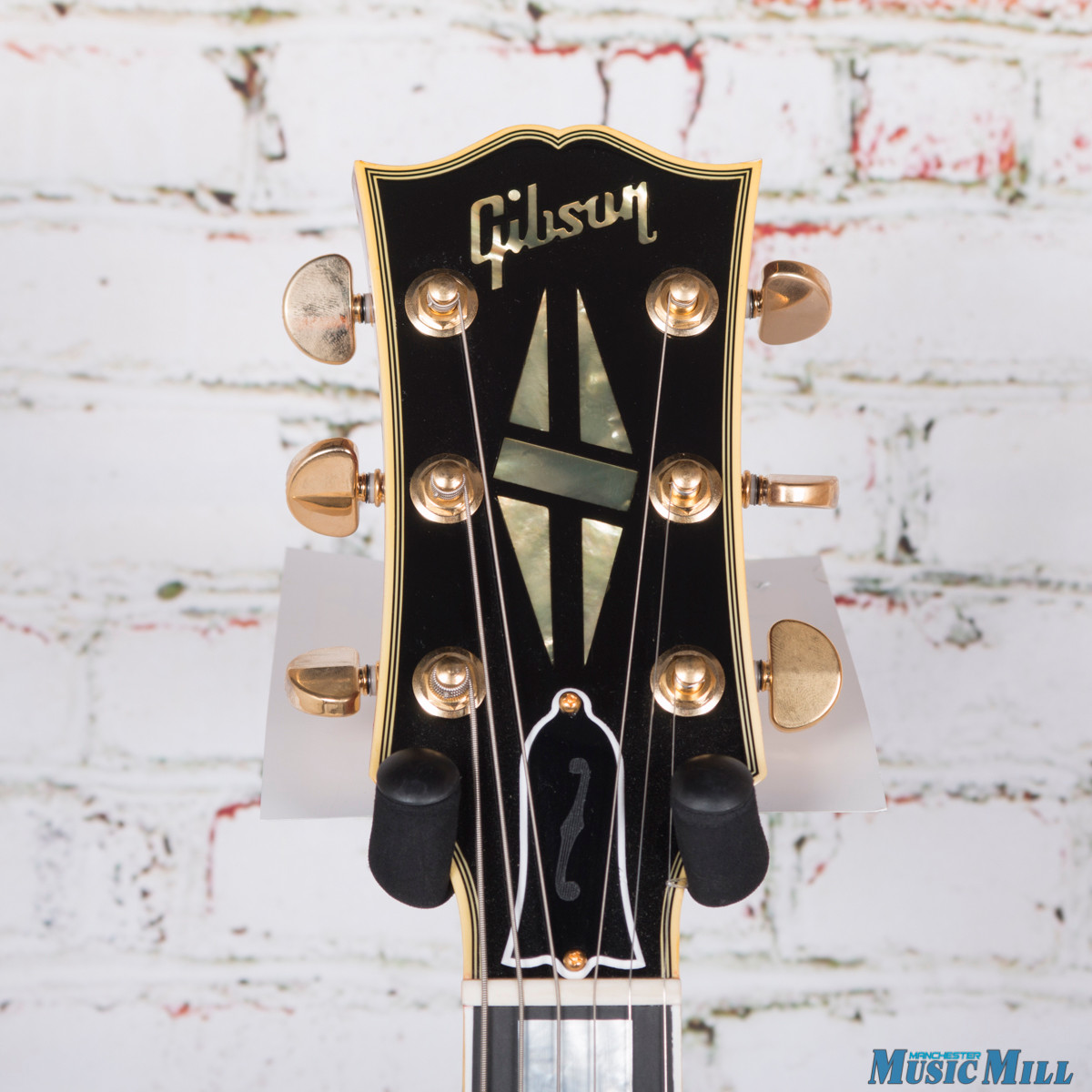 2016 Gibson ES275 Figured Hollow-Body Electric Guitar Dark Vintage Natural