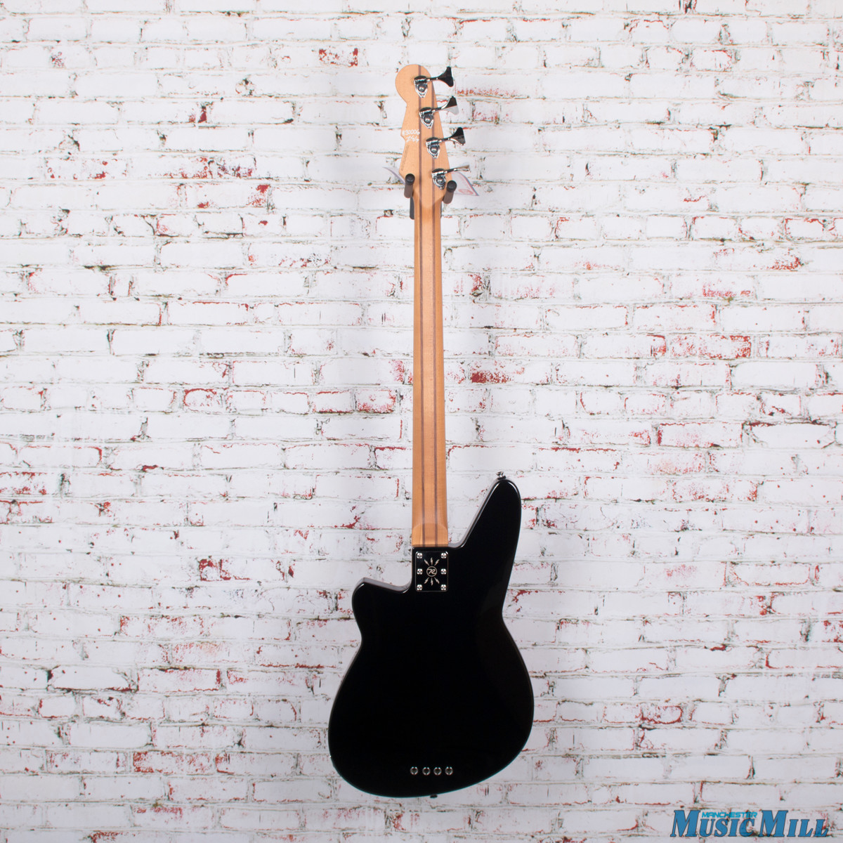 Reverend Decision 4-String Electric Bass Midnight Black