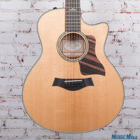 2015 Taylor 656ce 12 String Acoustic Electric Guitar Natural