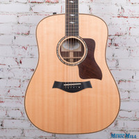 2014 Taylor 810e Dreadnought Acoustic Guitar Natural