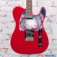 2014 Fender Limited Edition American Standard Channel Bound Telecaster Electric Guitar Candy Apple Red