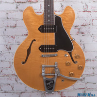 Gibson ES330TD Hollow-Body Electric Guitar Natural