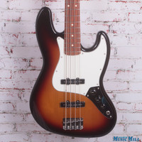 Fender Standard Jazz Bass Electric Guitar Brown Sunburst