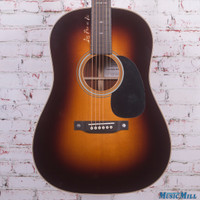 Martin Custom Shop Winter Themed 12-Fret Dreadnought Acoustic Guitar with Handpicked Colobolo Back and Sides