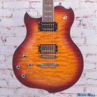 Minarik Lotus Left Handed Electric Guitar Sunburst