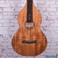 Iseman Style 1 Koa Weissenborn Hawaiian Lap Steel Acoustic Guitar Natural