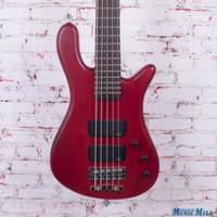 Warwick RockBass Streamer Standard 5-String Electric Bass Red