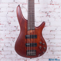 Ibanez SR505 5-String Electric Bass  Brown Mahogany