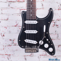 Traveler Guitar Travelcaster Deluxe Electric Guitar Black