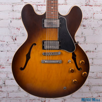 1987 Gibson ES-335 Semi-Hollow Electric Guitar Vintage Sunburst 7535