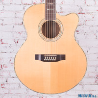 Cort SJ10x12 12 String Acoustic Electric Guitar Natural