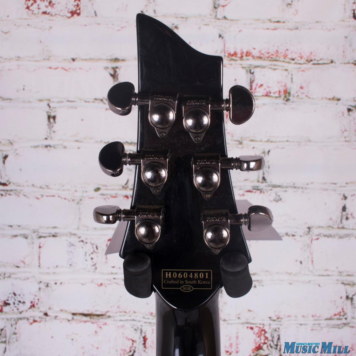 Schecter Shedevil C-1 Electric Guitar Black