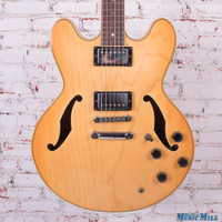 Ibanez AS80 Hollow Body Electric Guitar Natural
