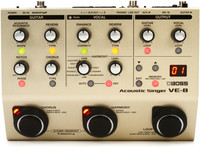 Boss VE-8 Acoustic Singer Vocal Processor Pedal