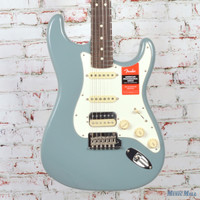 Fender American Professional HSS Shawbucker Stratocaster Electric Guitar Sonic Grey