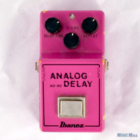 Ibanez AD80 Analog Delay Guitar Effects Pedal