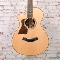 2015 Taylor 812ce 12-Fret Left-Handed Acoustic Electric Guitar Natural