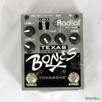 Radial Bones Texas Overdrive Guitar Effects Pedal