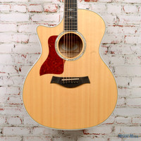 2014 Taylor 614ce Amber Left Handed Acoustic Electric Guitar Natural
