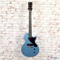 2011 Gibson Les Paul Junior Electric Guitar Palhem Blue