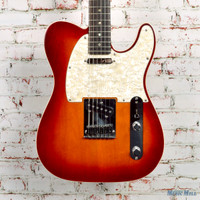 2005 Fender American Deluxe Telecaster Electric Guitar Aged Cherry Burst
