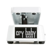 Dunlop Crybaby Bass Wah Pedal White
