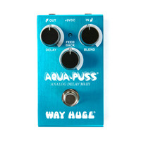Way Huge WM71 Smalls Aqua Puss Analog Delay Effect Pedal