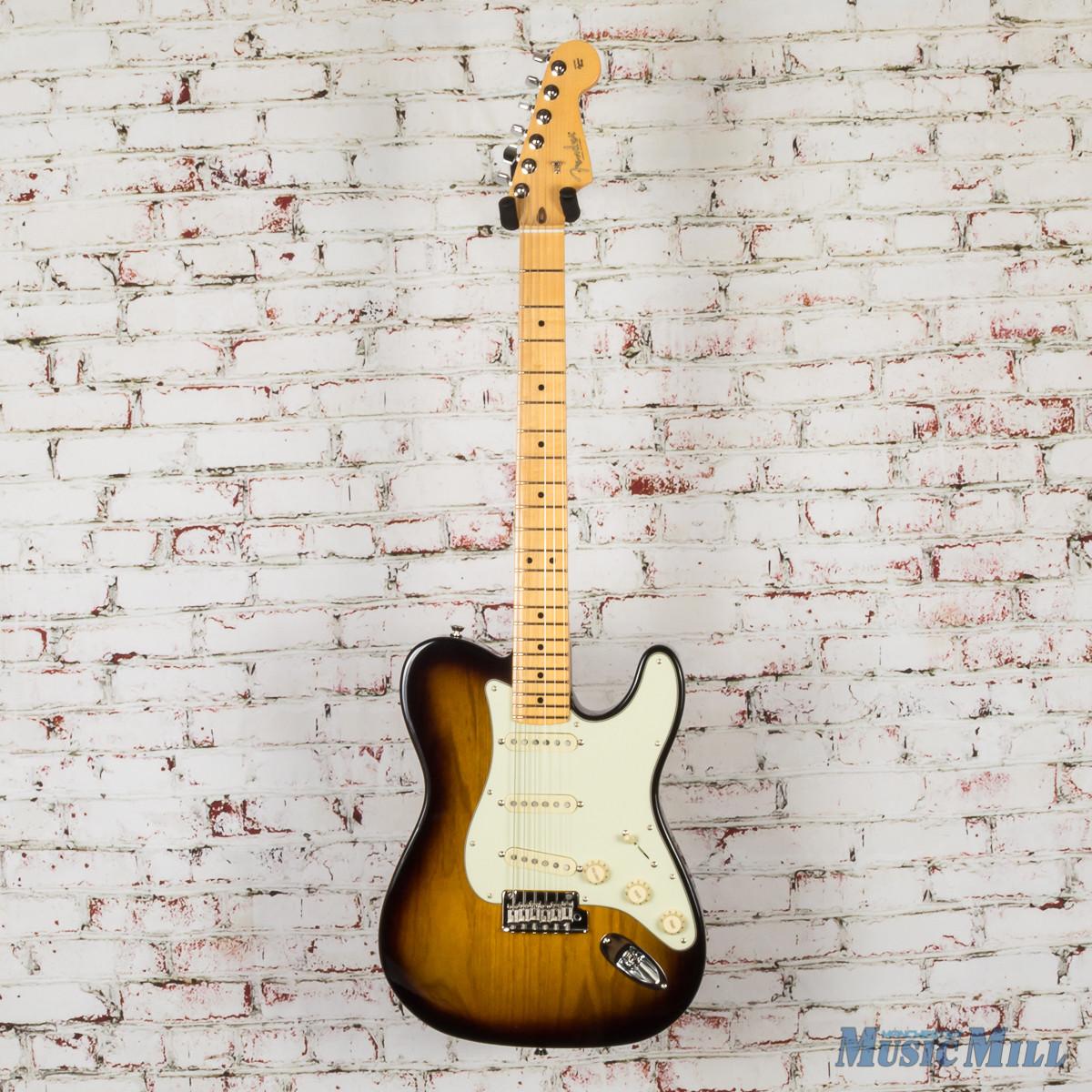 Fender Limited Edition Parallel Universe Strat-Tele Hybrid Electric Guitar 2-Tone Sunburst