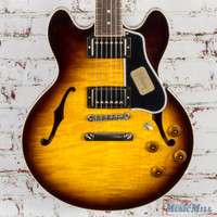 Gibson Custom Shop CS-336 Semi-Hollow Electric Guitar Vintage Sunburst