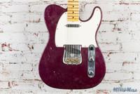 Fender Custom Shop Journeyman Telecaster Electric Guitar Metallic Purple