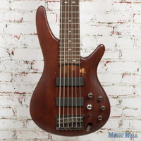 Ibanez SR506 6‑String Electric Bass Brown Mahogany