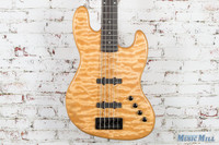 Spector Coda Pro 5 Electric Bass Natural Quilt